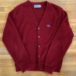 Vintage Lacoste Cardigan